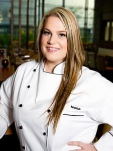 Победитель 8 сезона Адской кухни - Нона Сивли