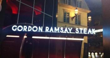 Gordon Ramsay Steak - ресторан Гордона Рамзи